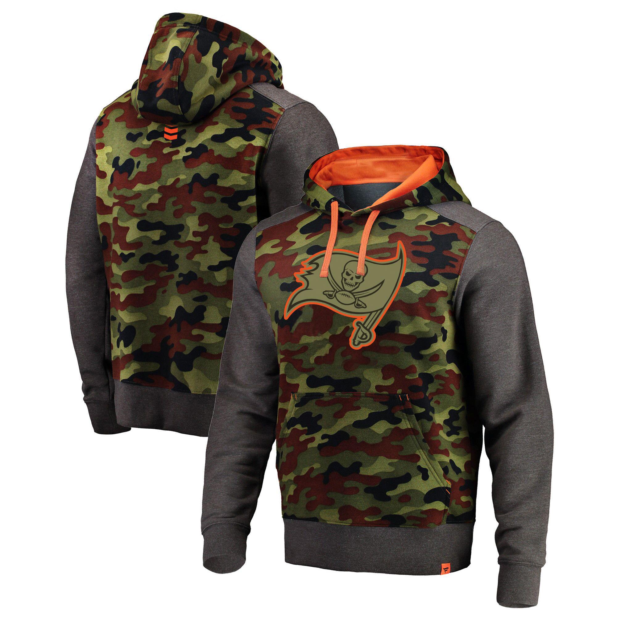 is cheap jerseys online legit Men\'s Tampa Bay Buccaneers Pro Line by Fanatics Branded Olive Recon Camo Pullover Hoodie nike soccer jerseys wholesale